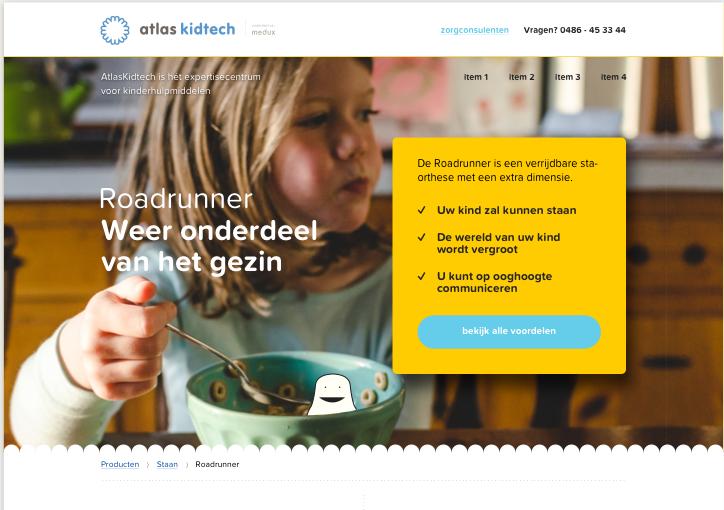 Atlas Kidtech Productpagina