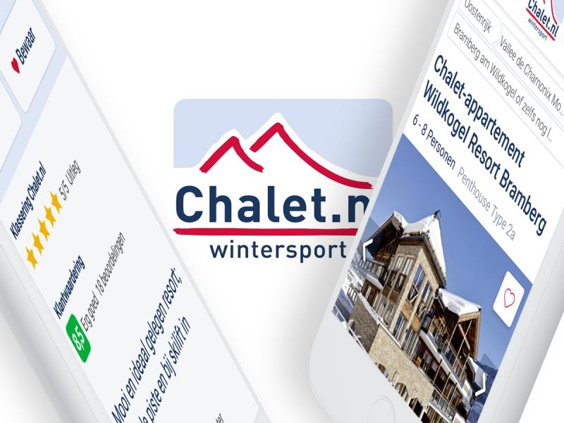 UX optimalisaties Chalet.nl