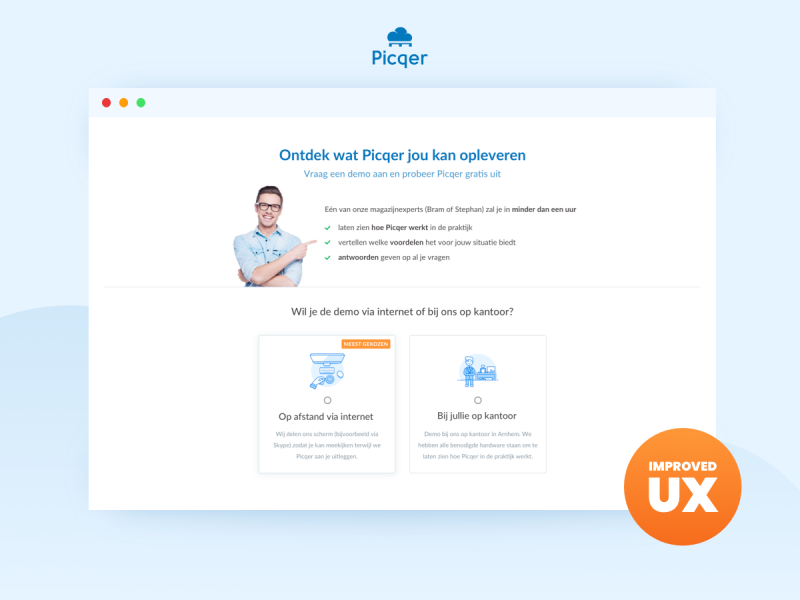 UX verbeteringen Picqer